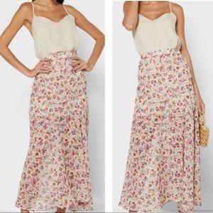 NWT Zara Floral Skirt